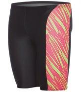 Speedo Flipturns Men's Rave Heart Jammer Swimsuit 8155580