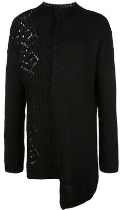 Yohji Yamamoto Button Down Sweater