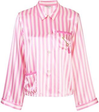 Morgan Lane Ruthie striped pyjama top