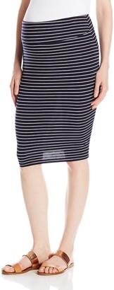 Ripe Maternity Women's Maternity Mia Stripe Skirt