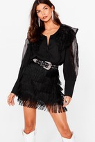 Nasty Gal Fringe Watch Mini Skirt
