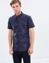 SS Abstract Floral Shirt