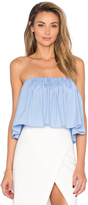 Milly Strapless Crop Top
