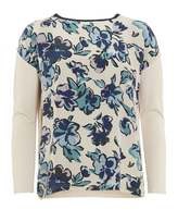 Max Mara Weekend Womens Micenea Floral Ivory Jumper