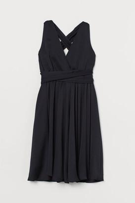 H&M Halterneck Dress - Black