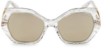 Roberto Cavalli 57MM Geometric Sunglasses