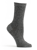 Ozone Black Lurex Socks