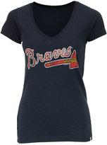 '47 Women's Atlanta Braves Flanker T-Shirt