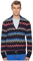 Missoni Loom Knit Chevron Sweater Men's Sweater