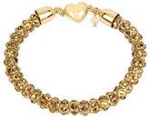 Betsey Johnson Garden of Excess Goldtone Chain Bracelet