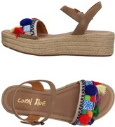 Coral Blue Sandals - Item 11385834