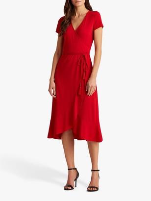 Ralph Lauren Ralph Entiama Tie Belt Casual Dress, Orient Red