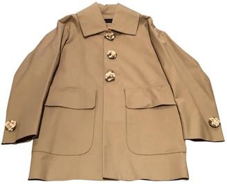 DSQUARED2 Beige Cotton Coat for Women