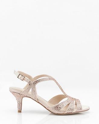 Le Château Jewel Embellished T-Strap Sandal