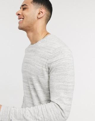 Calvin Klein sambolo jersey crew neck jumper