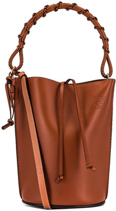 Loewe Gate Handle Bag in Rust Color | FWRD