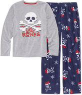 Arizona Boys Long Sleeve Kids Pajama Set-Big Kid