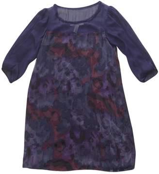 Diane von Furstenberg \N Navy Wool Dresses