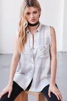 BDG Re-Worked Sleeveless Flannel Shirt