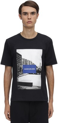 Calvin Klein Jeans Photographic City Sport Cotton T-Shirt