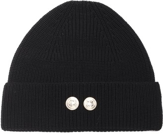 Barena Button Knitted Beanie