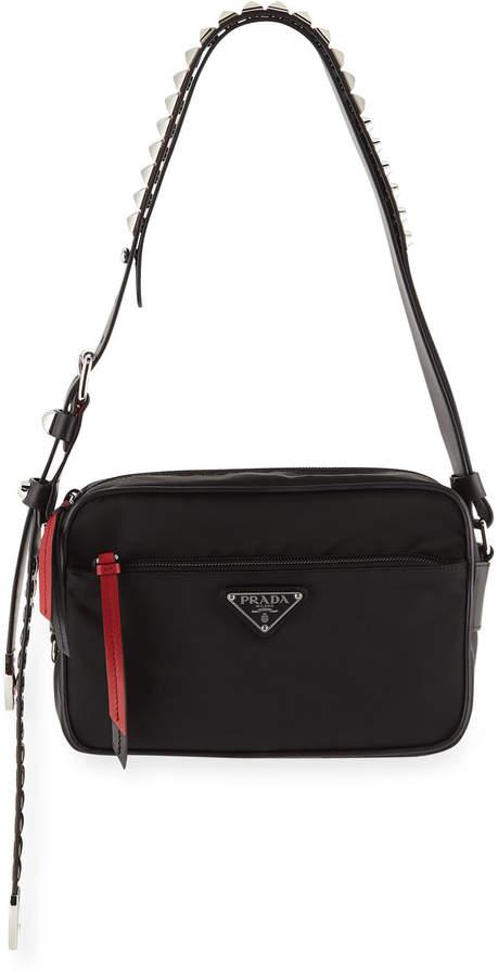 753d6c6d1e5 Prada Nylon Shoulder Bags - ShopStyle