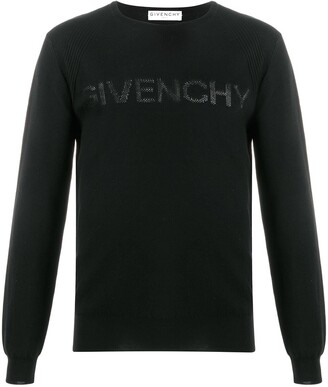 Givenchy Logo Print Knitted Jumper