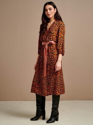 Bellerose Armory Dress In Russet - 8