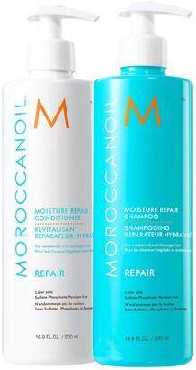 Moroccanoil Moisture Repair Shampoo & Conditioner Jumbo Set