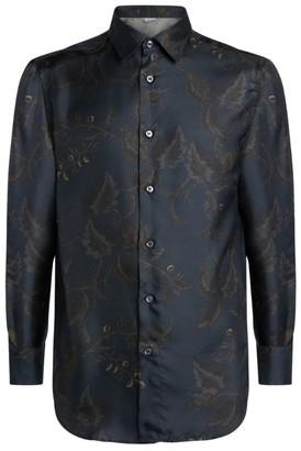 Brioni Silk Printed Shirt