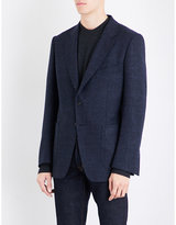 Tom Ford Houndstooth Slim-fit Wool And Alpaca-blend Jacket