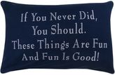 """B. Smith The Vintage House by Park Fun Things"""" Oblong Throw Pillow"""