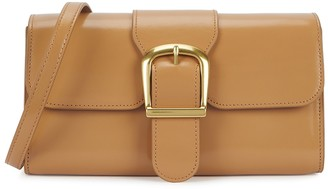 Rylan 2.14 Small Camel Leather Cross-body Bag