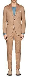 """Boglioli Men's """"K Suit"""" Wool-Cotton Two-Button Suit - Beige, Khaki"""