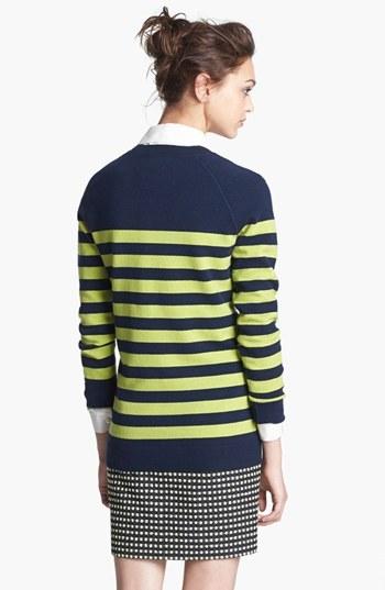 Nordstrom Miss Wu 'Zucca' Stripe Cashmere Blend Sweater Exclusive)
