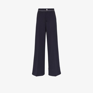 Moncler High Waist Flared Trousers