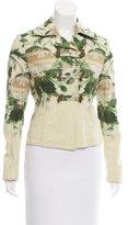 Dries Van Noten Lightweight Floral Print Jacket