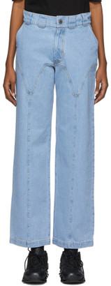 BARRAGÁN Blue Liguero Jeans