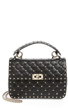 Valentino Garavani Medium Rockstud Spike Crossbody Bag