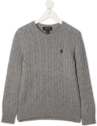 Ralph Lauren Kids Cable Knit Jumper