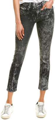 Hudson Nico Blackened Metallic Super Skinny Leg