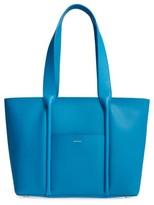 Skagen Lisabet Leather Tote - Blue