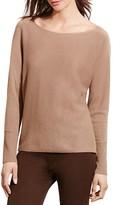 Lauren Ralph Lauren Wool-Cashmere Boat Neck Sweater