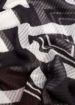 MANGO Geometric Print Scarf