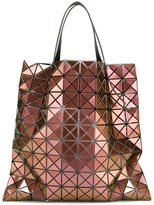Bao Bao Issey Miyake metallic geometric shopping bag