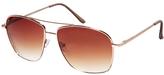 A. J. Morgan AJ Morgan Mission Sunglasses - Gold