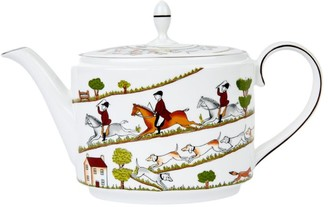 Wedgwood Hunting Scene Teapot (1L)