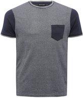 M&Co Brave Soul cotton pique t-shirt