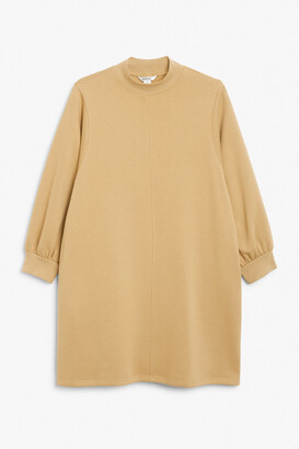 Monki Low-turtleneck sweater dress