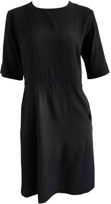 Margaret Howell Black Wool Dresses